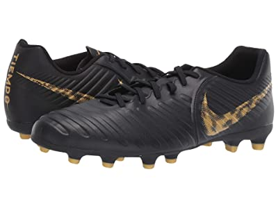 Nike Legend 7 Club MG (Black/Metallic Vivid Gold) Men