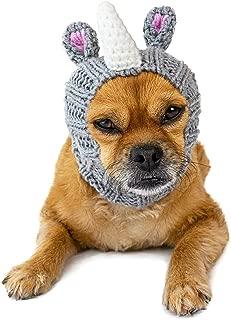 Zoo Snoods Rhino Dog Costume - Neck and Ear Warmer Headband for Pets