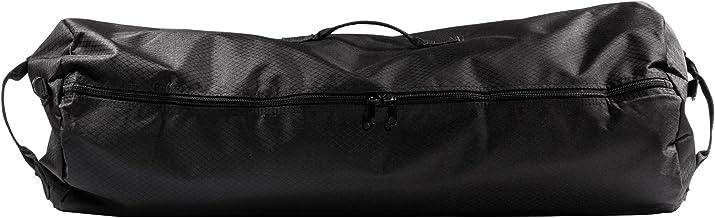 """North Star Sports Side Load Duffle Gear Bag 1050 Diamond Rip Stop Tuff Cloth, Midnight Black, 21"""" x 36"""""""