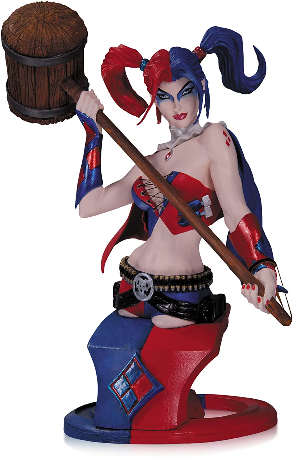 DC Comics Super Villains Harley Quinn Bust