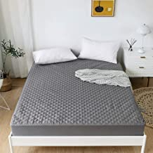 NOKOLULU Waterproof Mattress Protector King Size, Soft Breathable & Noiseless Quilted Fitted Mattress Pad Cover with Deep ...