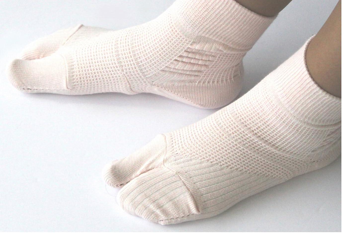 曲げる雄弁家器官外反母趾対策靴下(通常タイプ) 着用後でもサイズ交換無料??着用後でも返品可