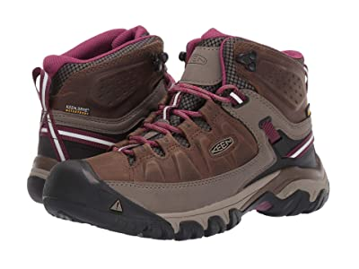 Keen Targhee III Mid Waterproof (Weiss/Boysenberry) Women