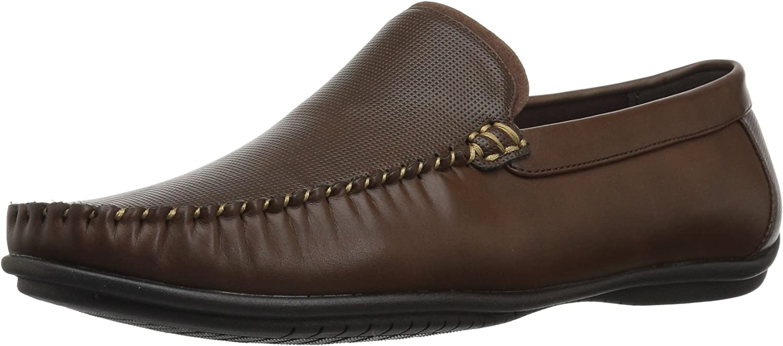Nunn Bush Men's 84755-200 Driving Style Loafer, Brown, Medium