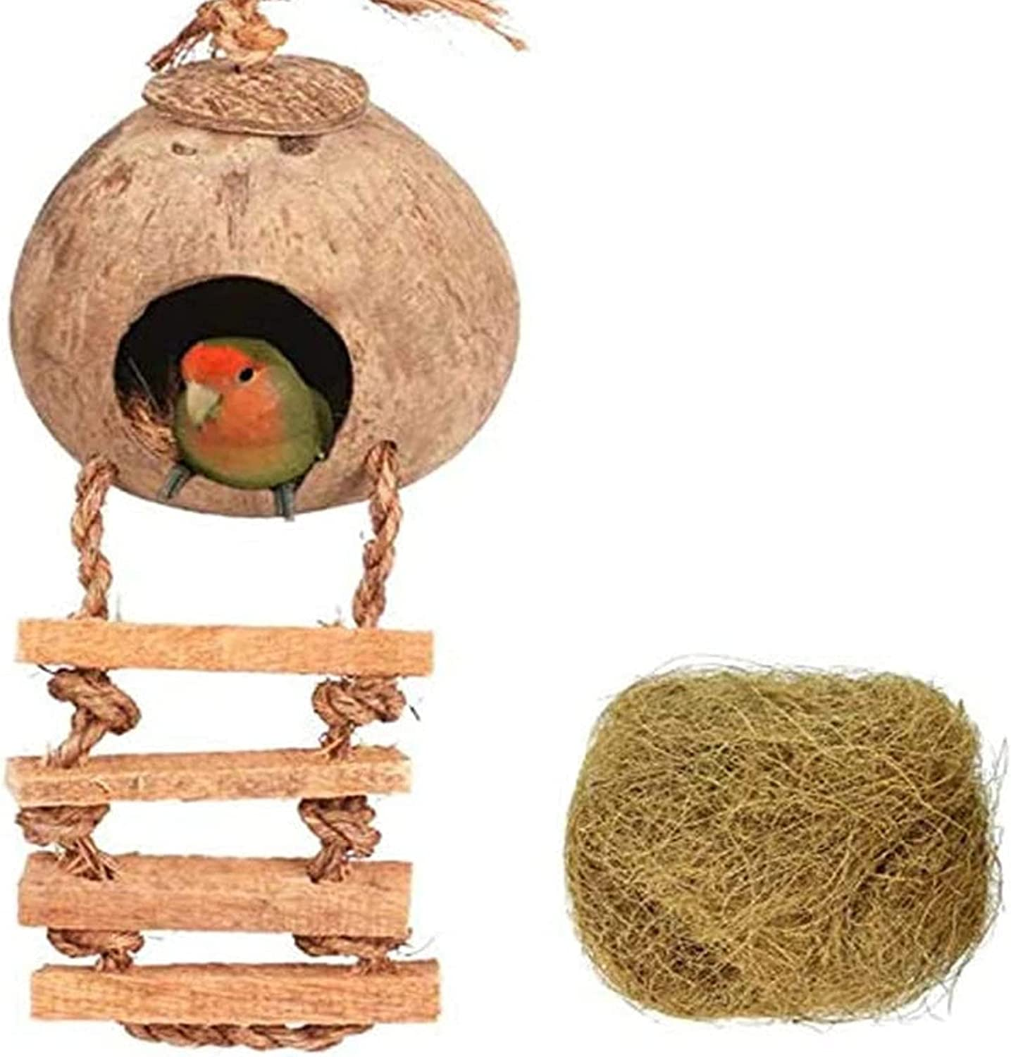 Tfwadmx Coconut Hide specialty shop with Ladder Natural Fiber Hanging Now free shipping