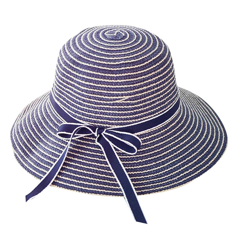 軽蔑因子反対するキャップ 帽子 サンバイザー 漁師の帽子 UVカット 帽子 レディース 麦わら帽子 uv帽 つば広 ビーチ おしゃれ 可愛い ハット キャップ 通気性抜群 日除け UVカット 紫外線対策 薄手 スポーツ シンプル 蝶結び