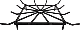 SteelFreak Square Wheel Fire Pit Grate - Made in The USA (28 x 28 Inch)