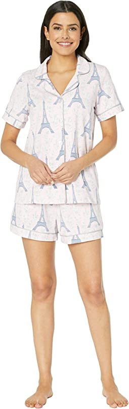 Short Sleeve Classic Short Pajama Set