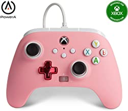 PowerA Enhanced Wired Controller for Xbox - Pink, Gamepad, Wired Video Game Controller, Gaming Controller, Xbox Series X ...