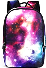 JKPUDUN Galaxy Casual College Backpack Laptop Bag Back to School Travel Daypack