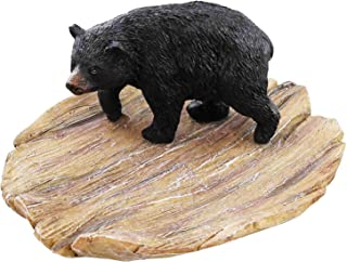 AR Country Store Black Bear Soap Dish - Change Dish - Jewelries Dish