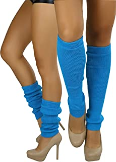ToBeInStyle Women's Sexy Soft Knit Thick Knee High long Leg Warmers