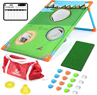 EP EXERCISE N PLAY Backyards Golf Cornhole Game |Training Golfing Target Net | Fun New Golf Game for All Ages & Abilities
