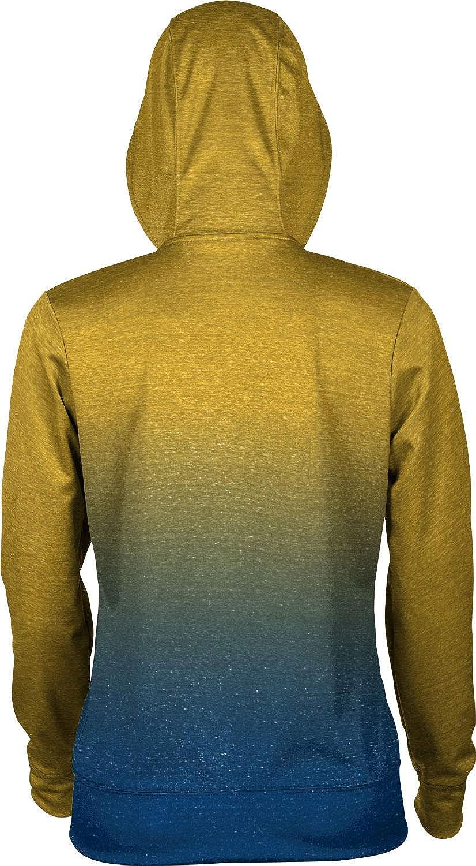 North Carolina A&T State University Girls' Pullover Hoodie, School Spirit Sweatshirt (Ombre)
