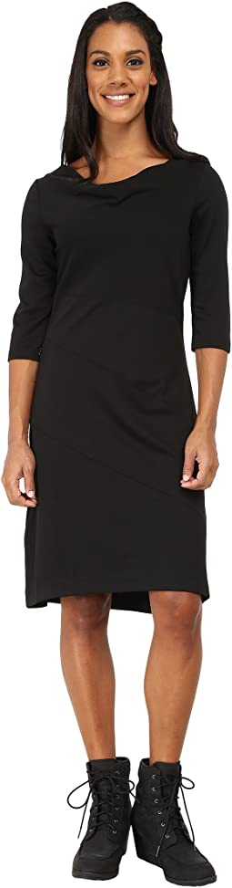 Ponte 3/4 Sleeve Dress