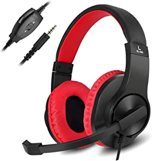 Best Gaming Headset for Xbox One, PS4, Nintendo Switch, DIWUER Bass Surround and Noise Cancelling 3.5mm Over Ear Headphones with Mic for Laptop PC Smartphones Review