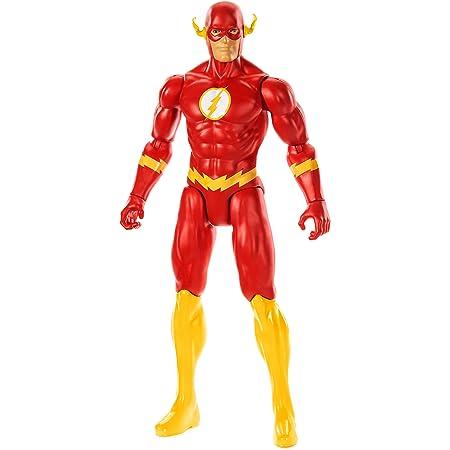 DC Justice League Figura de Acción 30 cm The Flash, Juguetes Niños +3 años (Mattel GDT51) , color/modelo surtido