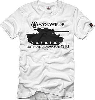 Wolverine Panzer Gun Motor Carriage M10 Jagdpanzer Camiseta # 32946