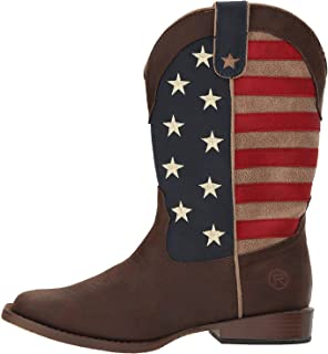 Roper Kids' American Patriot Western Boot