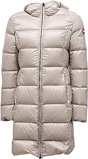 Colmar 1520Z Piumino Lungo Girl Bimba Place Light Grey Long Jacket