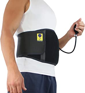 Umbilical Hernia Belt with Inflatable Pump By Everyday Medical I Navel Hernia Support Belt with Adjustable Air Pressure Pump for Men and Women I Abdominal Hernia Support Brace I Large/XL/XXL/Plus Size