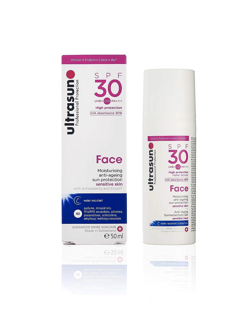 の量変換すばらしいですアルトラサン 日焼け止めローション フェイス UV 敏感肌用 SPF30 PA+++ トリプルプロテクション 50mL