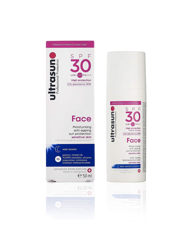 以下属するスキームアルトラサン 日焼け止めローション フェイス UV 敏感肌用 SPF30 PA+++ トリプルプロテクション 50mL