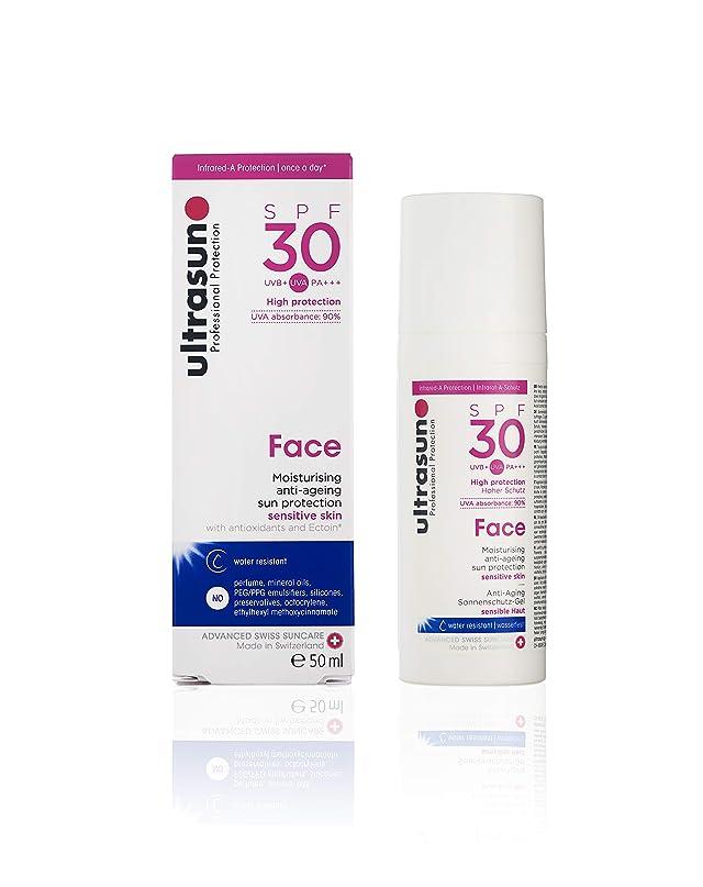 借りるステッチふけるアルトラサン 日焼け止めローション フェイス UV 敏感肌用 SPF30 PA+++ トリプルプロテクション 50mL