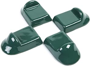 Ceramic Feet Accessories fit for Big Green Egg,SAROO Ceramic Grill Shoes for Large Green Egg ,Medium/XL bge Base Parts Set of 4