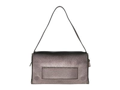 Vince Camuto Dee Shoulder (Foxy Black) Handbags