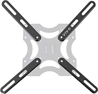 VIVO Steel VESA LCD LED TV Mount Adapter Plate Brackets for Screens 32 to 55 inches | Conversion Kit for VESA up to 400x400mm (MOUNT-AD400B)