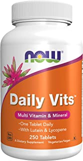 NOW Daily Vits,250 Tablets
