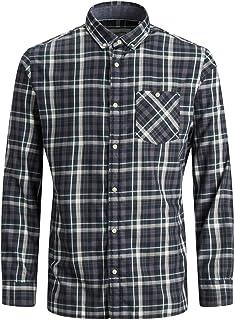 Jack & Jones Jcotoronto Shirt LS One Pocket Camisa para Hombre