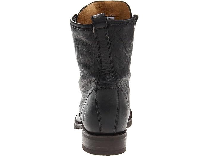 8.5 M US Grey FRYE Womens Veronica Combat Boot