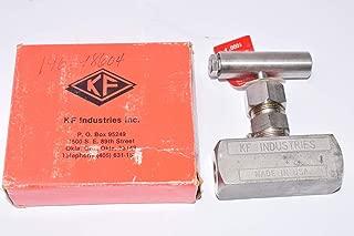 KF Industries Part: 14-14 HT, 1/4 SS, 10,000 PSI Needle Valve