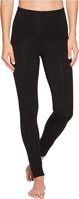 2c46076812a8d HUE Ultra Leggings w/ Wide Waistband at Zappos.com