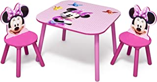 Disney Junior Delta Children Table and Chair Minnies Bow-Tique Bed