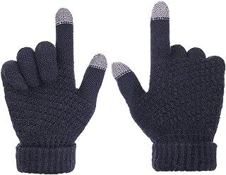 comprar comparacion Sholov Guantes Touch screen para Mujer/Hombre, Guantes abrigadores para el hogar, Guantes Termicos Para el Clima frío al A...