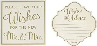 Lillian Rose GA211 Ivory 48 Wishes and Advice Cards, 4