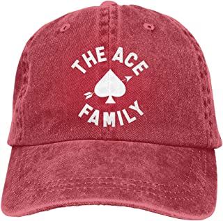 The Ace Family Baseball Cap Men Women Golf Hats Adjustable Plain Cap