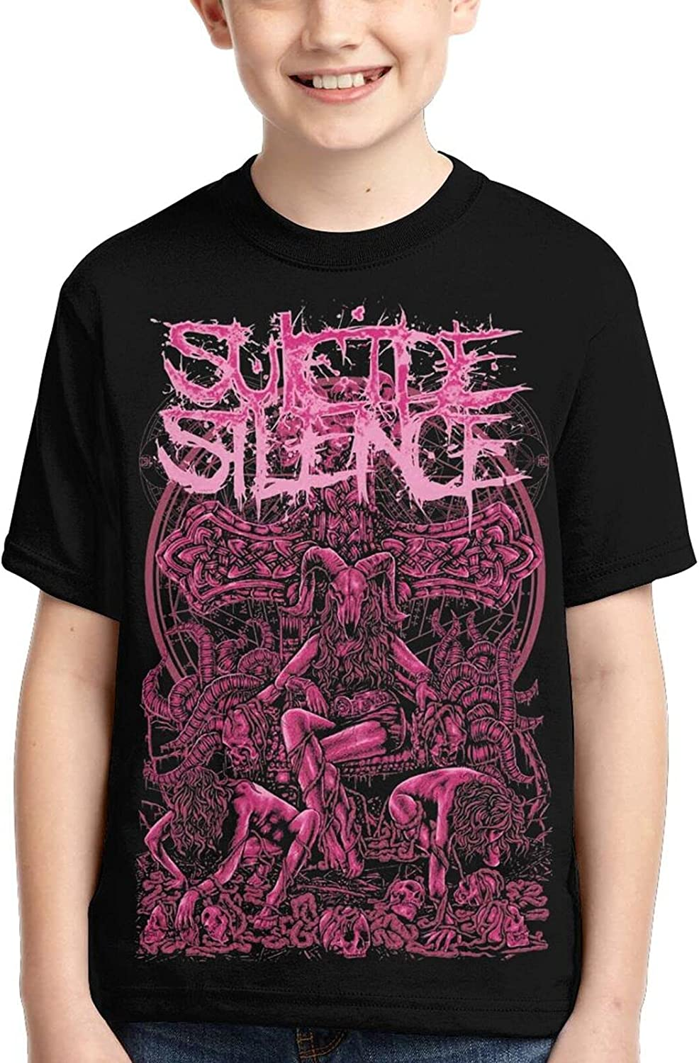 Suicide Silence Simple and Practical Cool Boy T-Shirts online Year-end annual account shopping