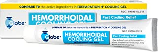 Hemorrhoidal Cooling Gel for Fast Relief with Vitamin E and Aloe Tube (1.8 Ounce) Compare to Preparation H Cooling Gel