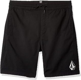 "Volcom boys Volcom Boys' Big Deadly Stones 16"" Elastic Waist Short Casual Shorts"