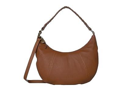 Lucky Brand Vala Shoulder (New Cognac) Handbags