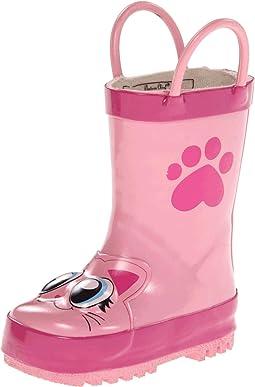 Pink Kitty Rainboot (Toddler/Little Kid/Big Kid)