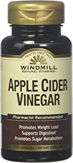 Windmill Apple Cider Vinegar Caps 100'S Windmill (Pack of 1)