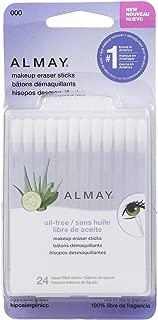 Almay Makeup Eraser Sticks, Liquid Filled Sticks 24 ea (Pack of 4)