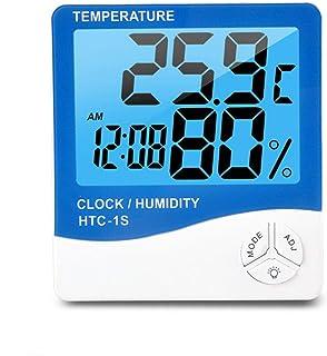 XYXZ Termómetro De Habitación Higrómetro Inalámbrico Digital LCD Retroiluminación Temperatura Monitor De Humedad Digital H...