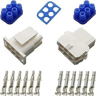 Stecker Set Steckverbinder gedichtet Universal Mate N Lok 6 polig und Kontakte
