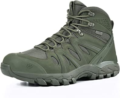 XPETI Tactical Men's Waterproof Walking Hiking Boots